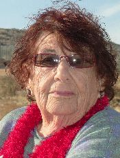 The author?s mother, who spent her 89th birthday at Tayasir Checkpoint in Israel?s West Bank.