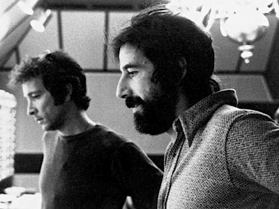 Herb Alpert in the studio with Lou Adler in 1970.