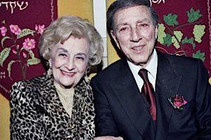 Marjorie and Rabbi Jacob Pressman