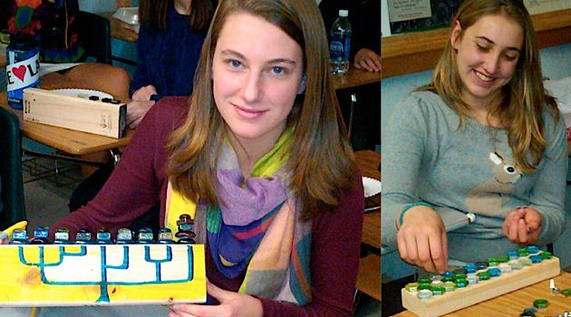 Light Unto the Nation: Will these Denver teens making hanukkiahs stay committed to their Jewish heritage?