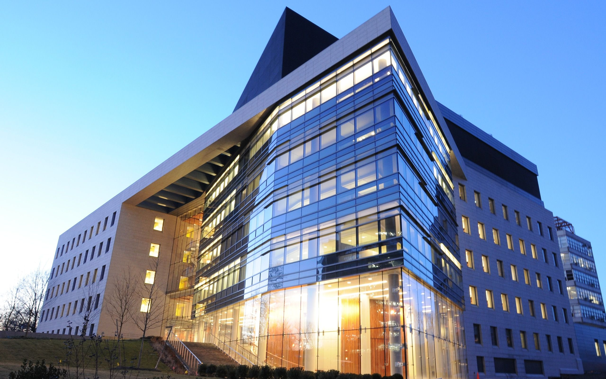 The Price Center/Block Pavilion is one of six buildings on Einstein's campus that has tested positive for Legionnaires' disease.