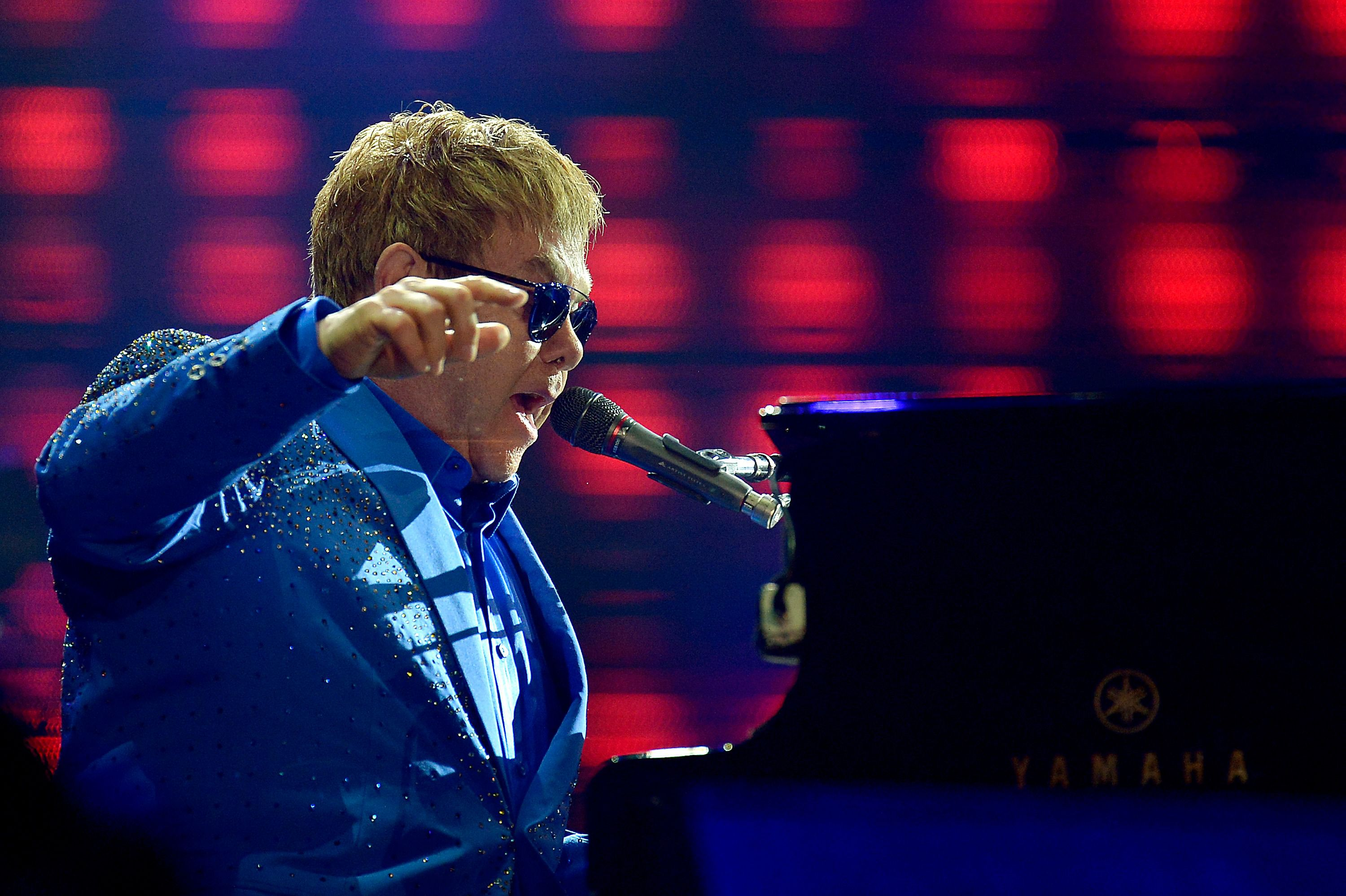 Elton John will headline June's Life Festival.