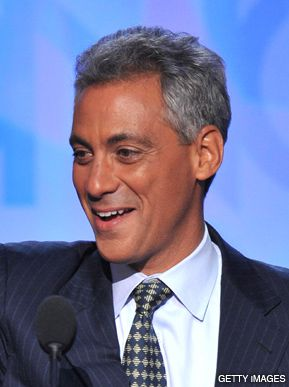 THE CHOSEN: Emanuel will be the White House point man.