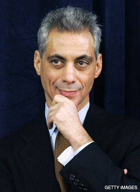 DITHYRAMB FOR RAHM: Our Stanley Siegelman hails Obama's future chief of staff in bilingual verse.