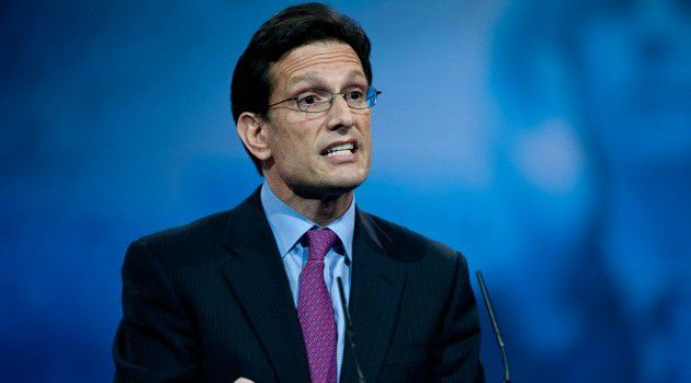 Grandson of Immigrants: Eric Cantor, the GOP House Majority Leader, has yet to take a stand on immigration.
