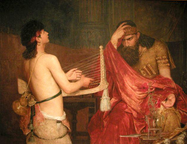 ?David and Saul? (1878)