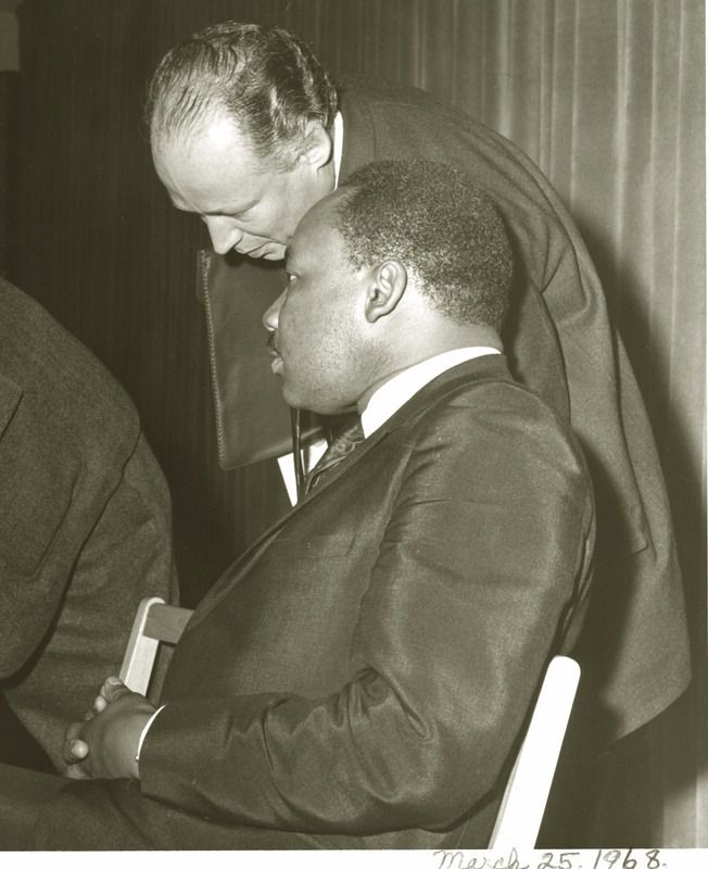 A Meeting in 1968: Gendler With Martin Luther King.