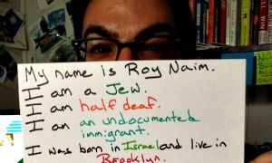 A photo Roy Naim published on his Facebook page on July 22, 2013.