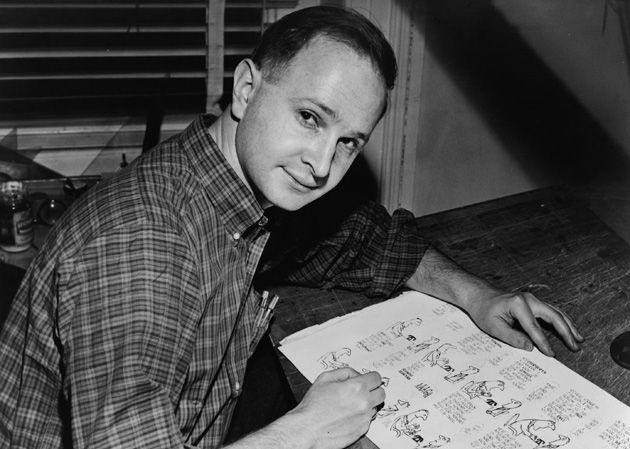 The Artist as a Younger Man: Jules Feiffer, always fighting the good fight.