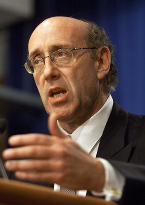 Modern Solomon: Executive com-pensation master Kenneth Feinberg will set salaries for TARP executives.