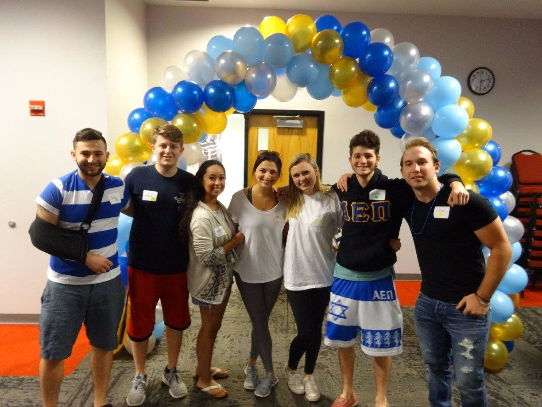 Jewish students at Florida Atlantic University