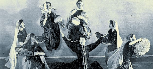 Fred Berk?s Hebraica Dancers: For the Viennese choreographer, Berk, ?Jewish Dance? needed to embrace its new Middle Eastern context.