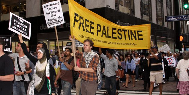 Seizing the Moment: Pro-Palestinian activists gathered on June 1 in front of the Israeli consulate in New York City and proceeded to march down 42nd Street to Times Square.