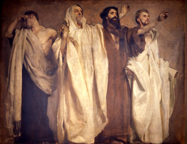 ?Frieze of the Prophets?: John Singer Sargent?s murals depict scenes from both Testaments.