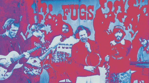 Band in New York: Tuli Kupferberg appropriated Yiddish melodies for songs he performed with his band The Fugs.