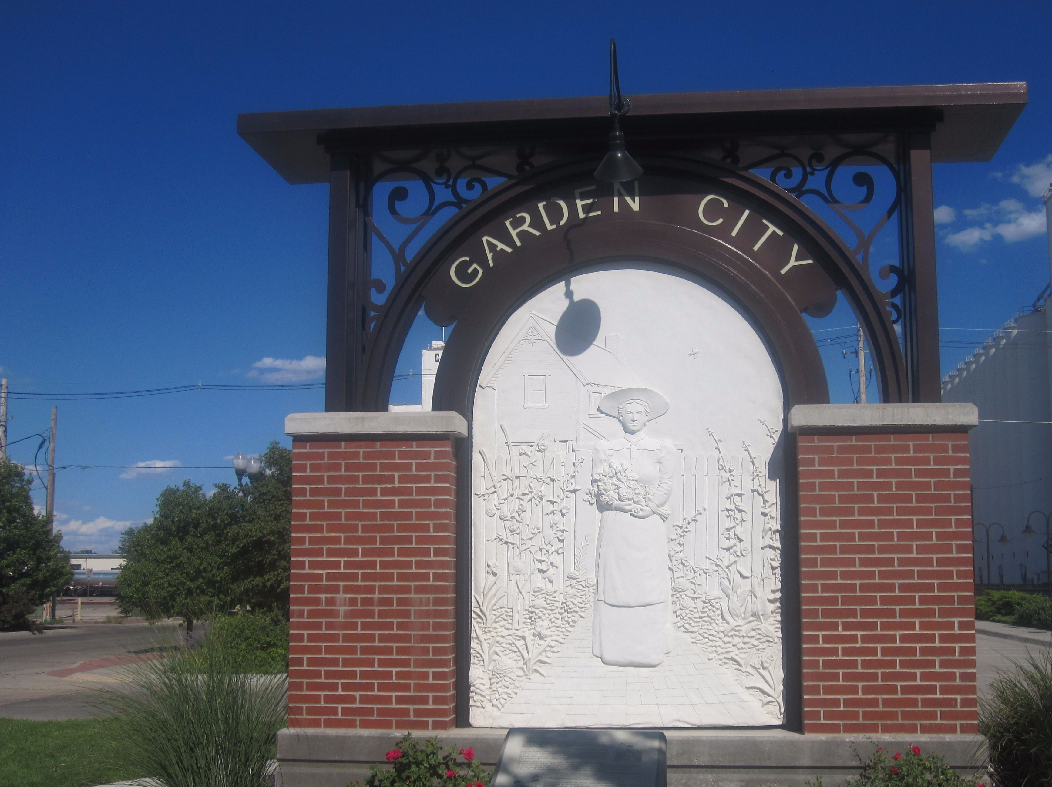 Kansas Hospitality: Garden City, Kansas, usually offers a more fulsome greeting to those who arrive there.
