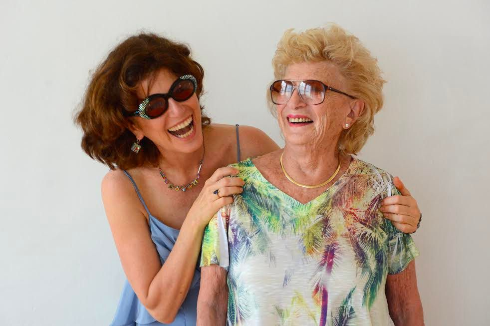 Gayle Kirschenbaum and her mother, Mildred