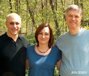 GRASSROOTS: The founders of Investors Against Genocide. From left: Eric Cohen, Susan Morgan, Bill Rosenfeld.