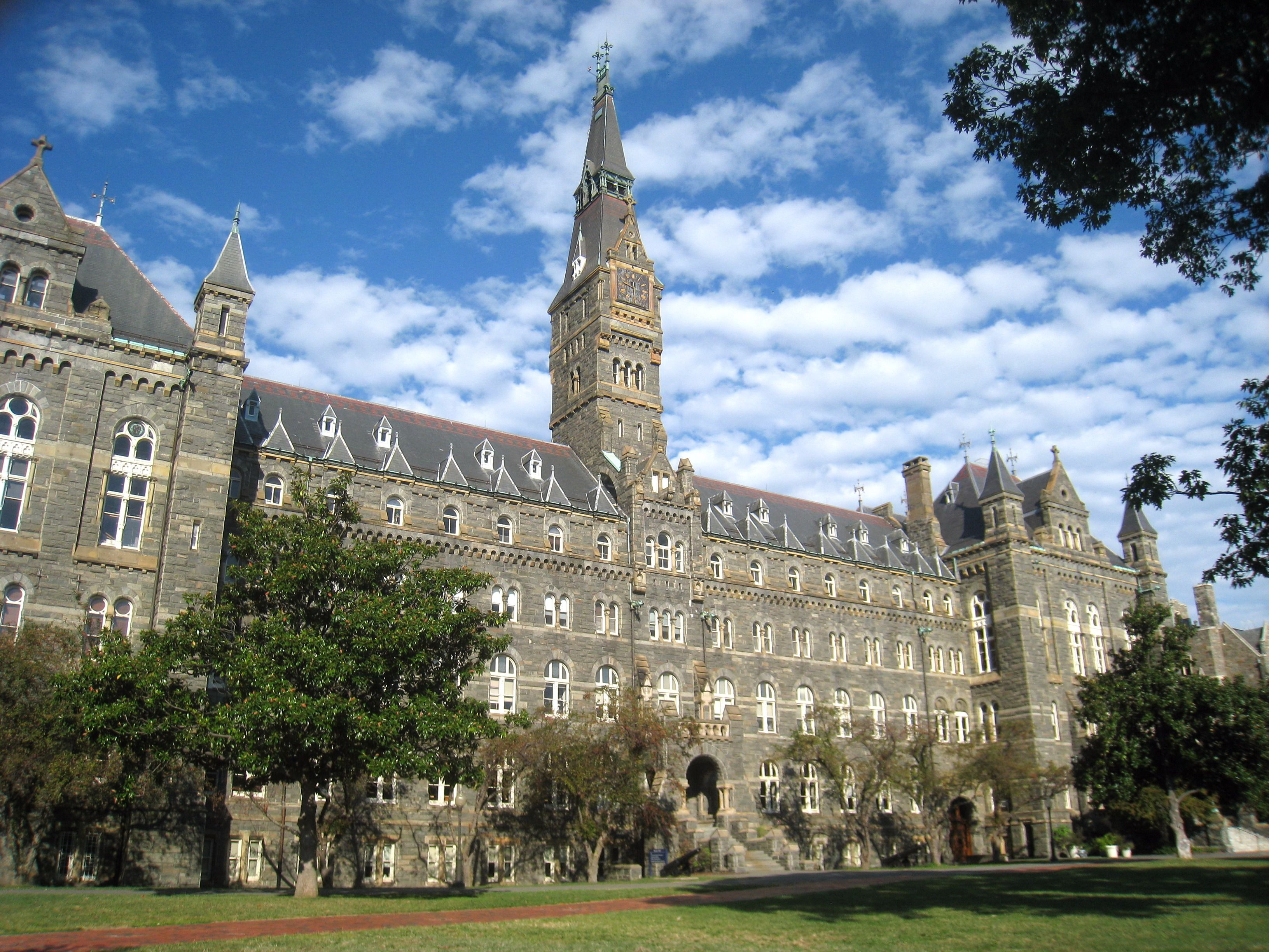 Healy Hall, Georgetown University.
