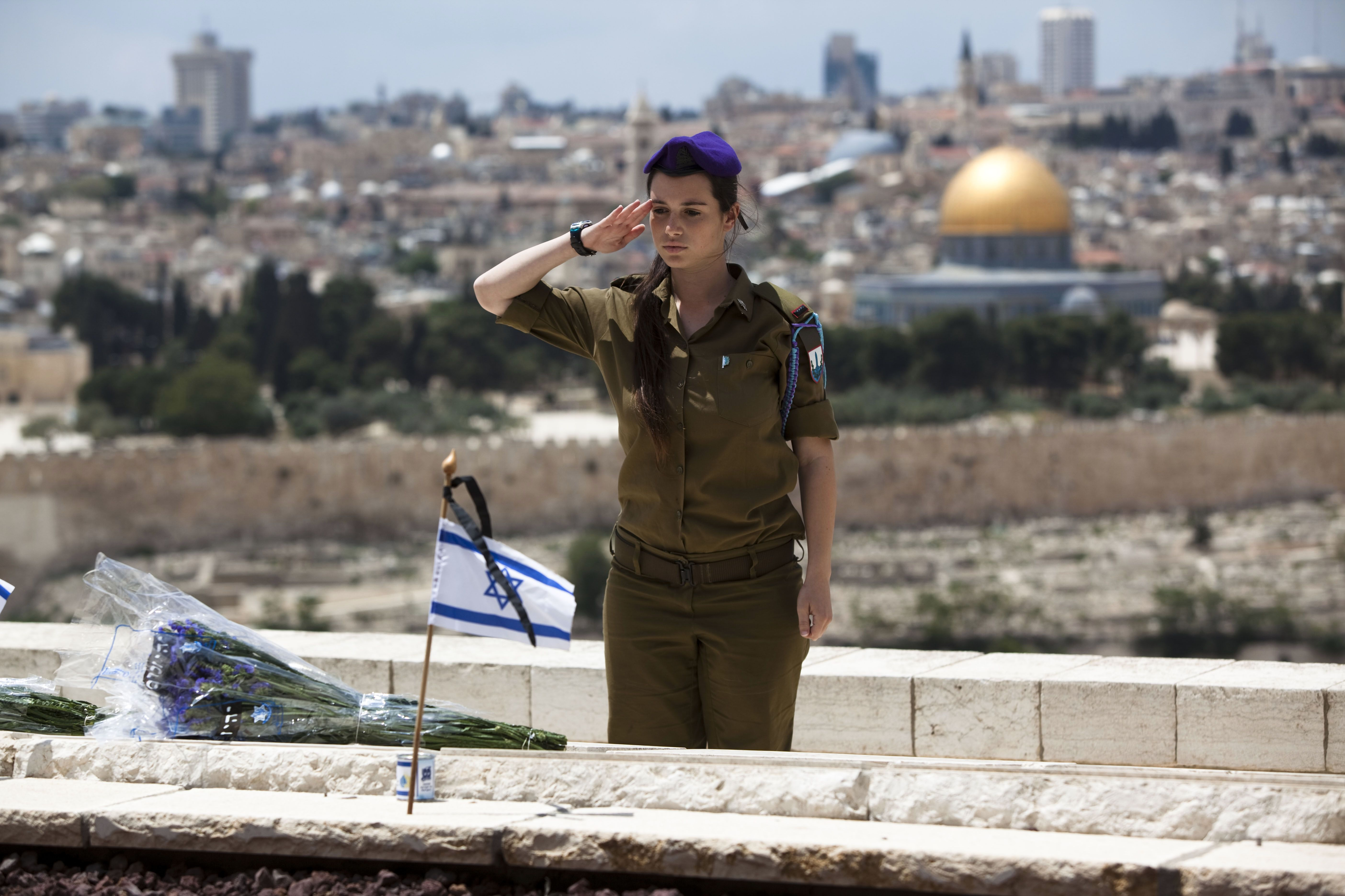 Honoring the Fallen: Israel prepares to observe Memorial Day.