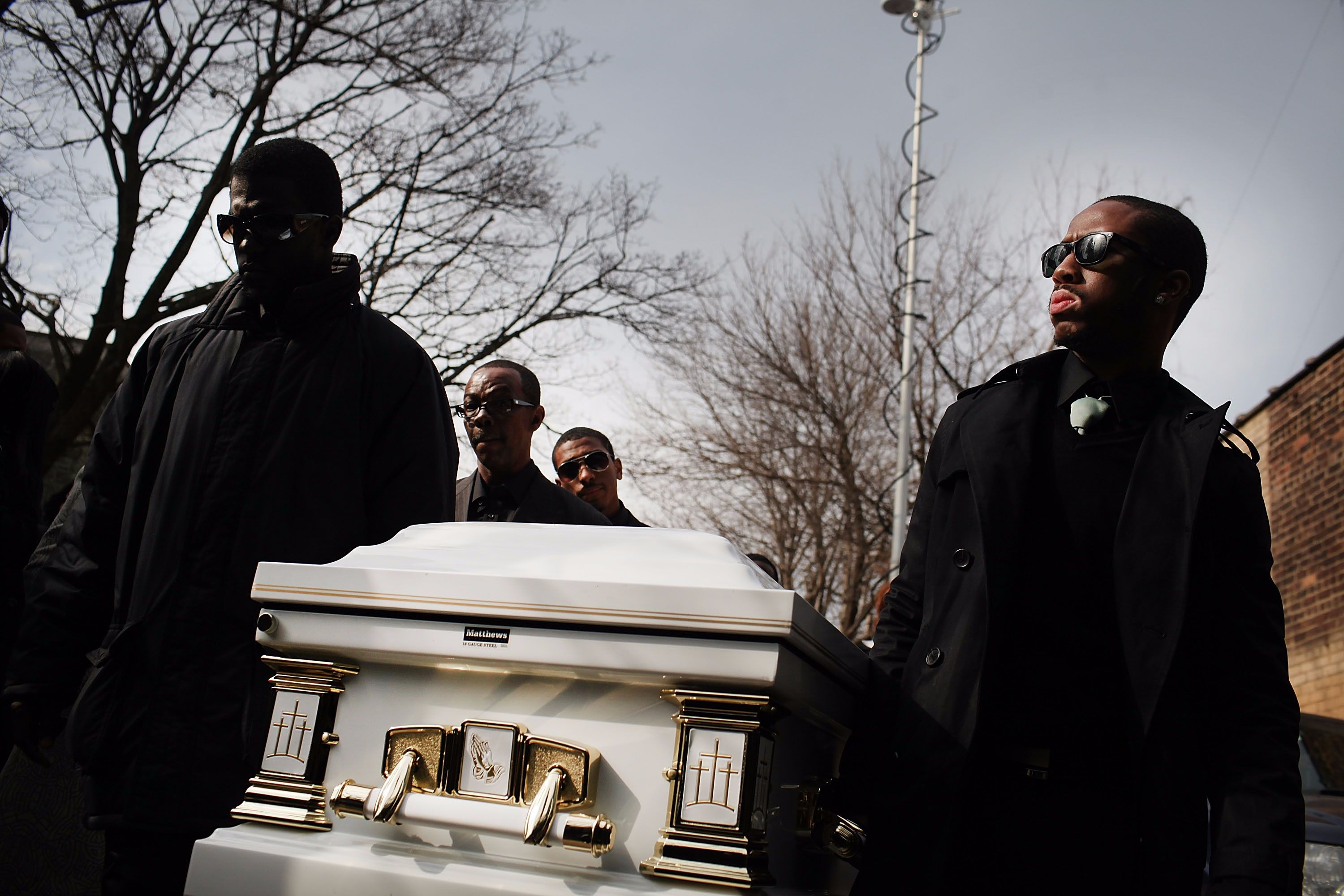 The 2012 funeral of Ramarley Graham.