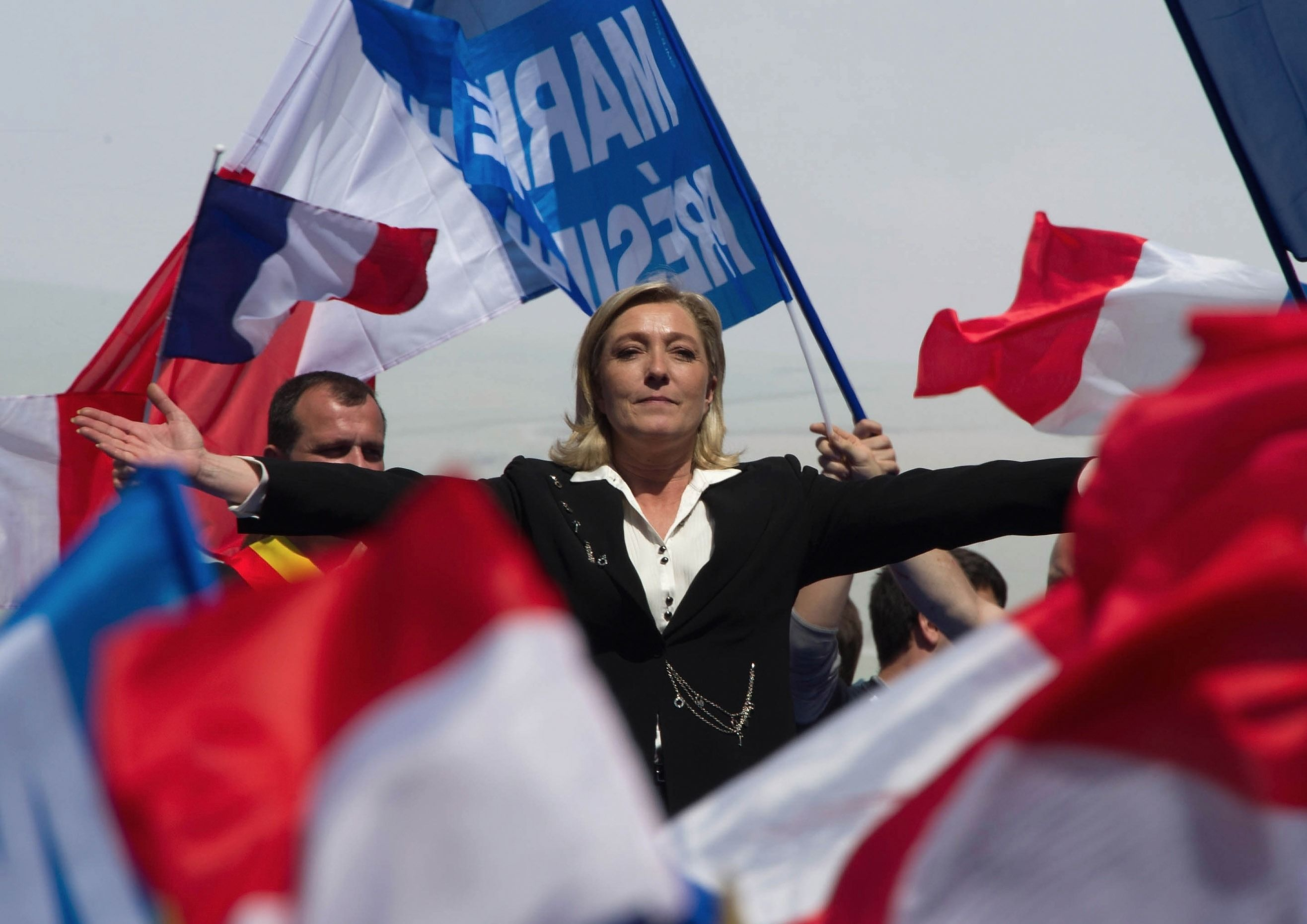Marine Le Pen, of the French National Front party.