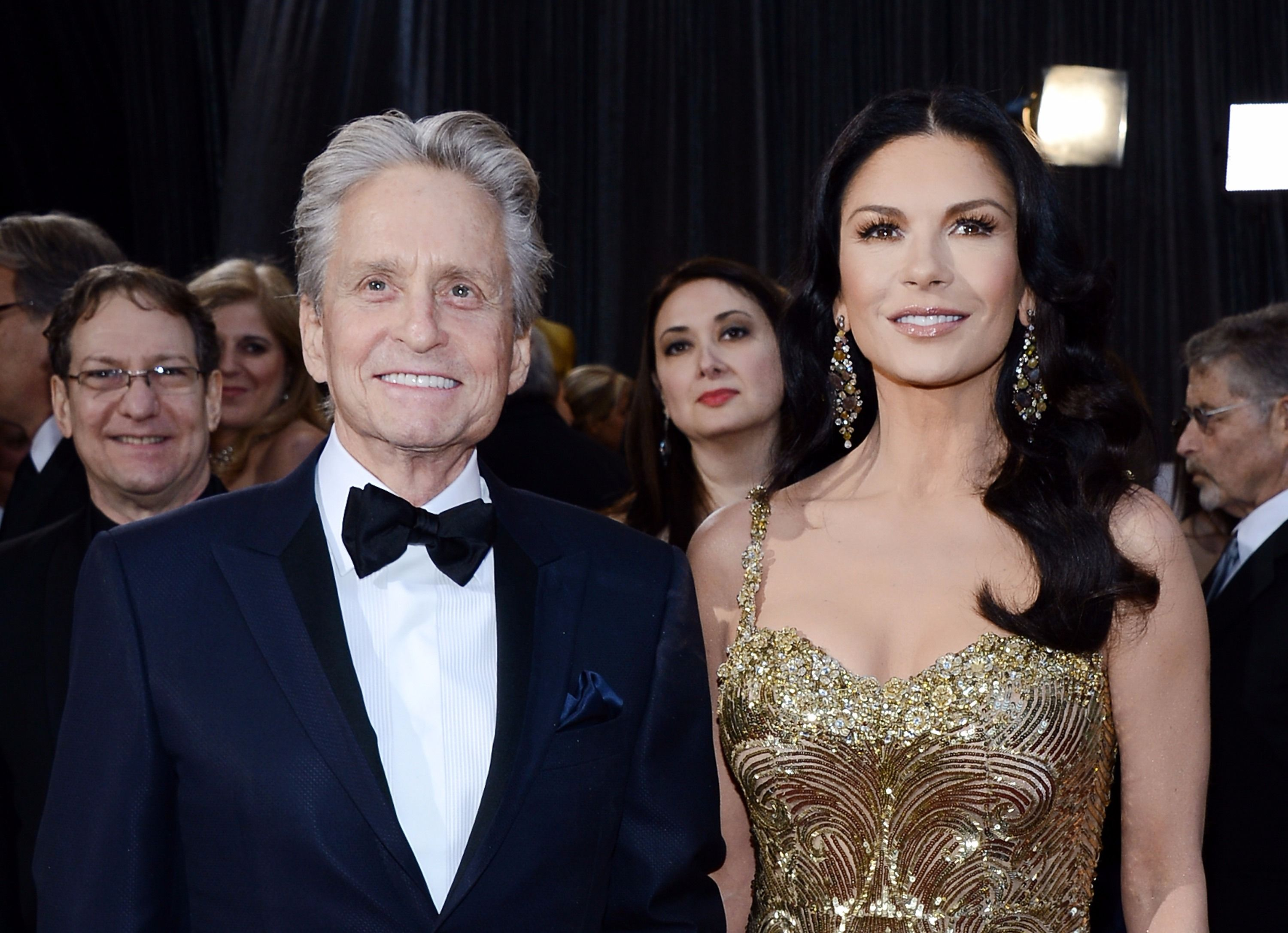 Michael Douglas and Catherine Zeta-Jones live in an endless party