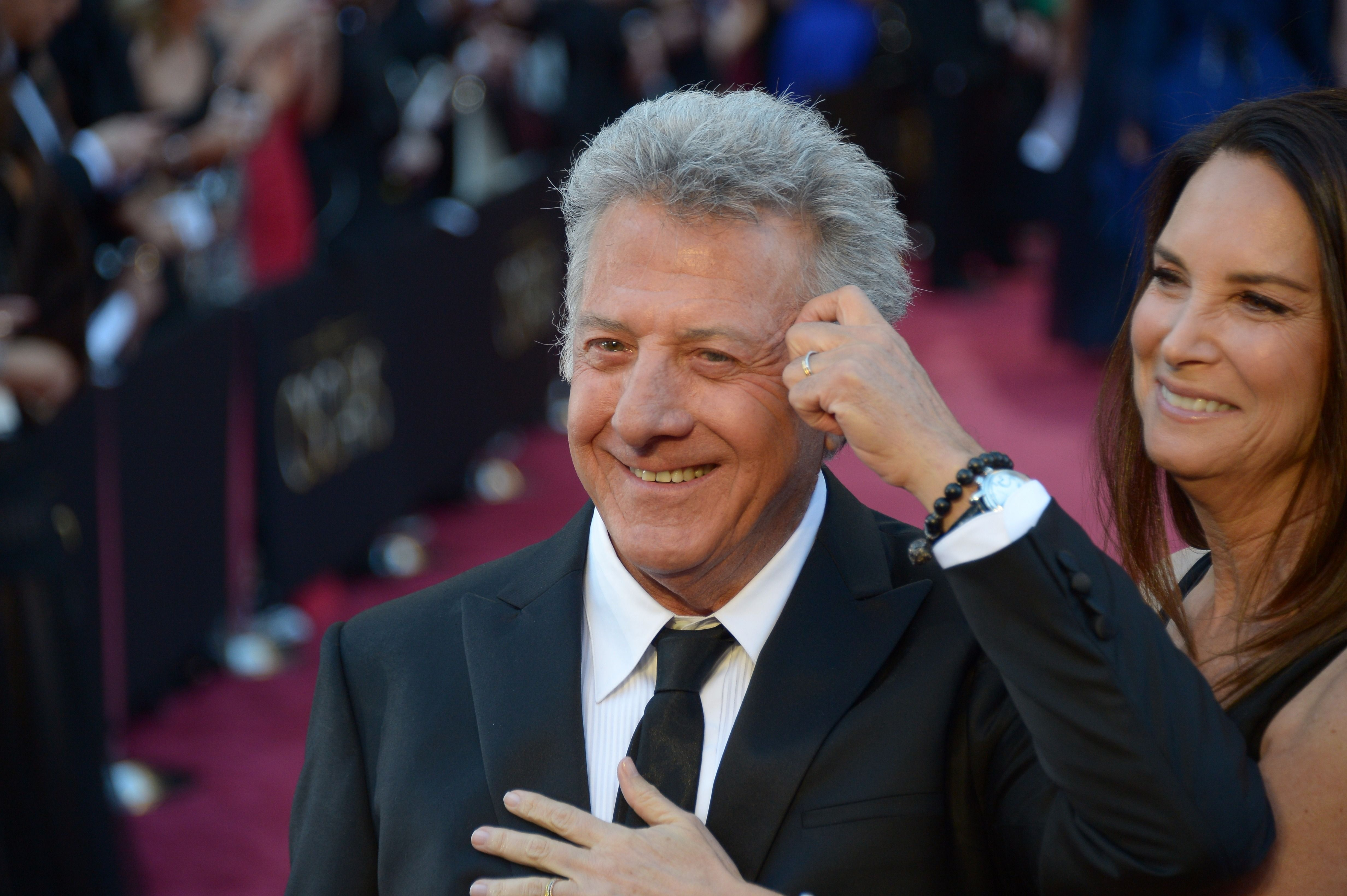Dustin Hoffman and the unsung hero of the event, Lisa Hoffman