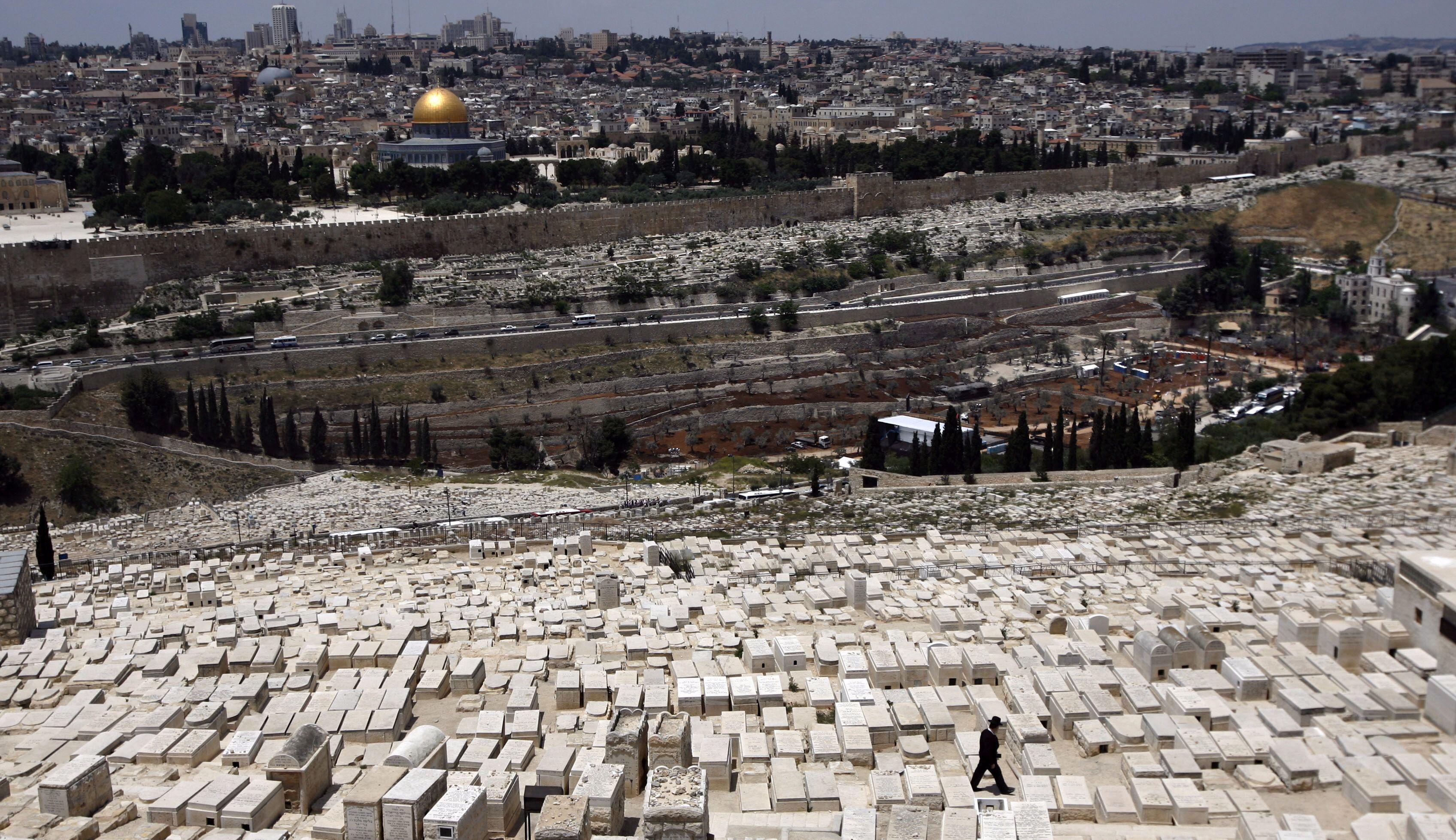 Mount of Olives in Jerusalem
