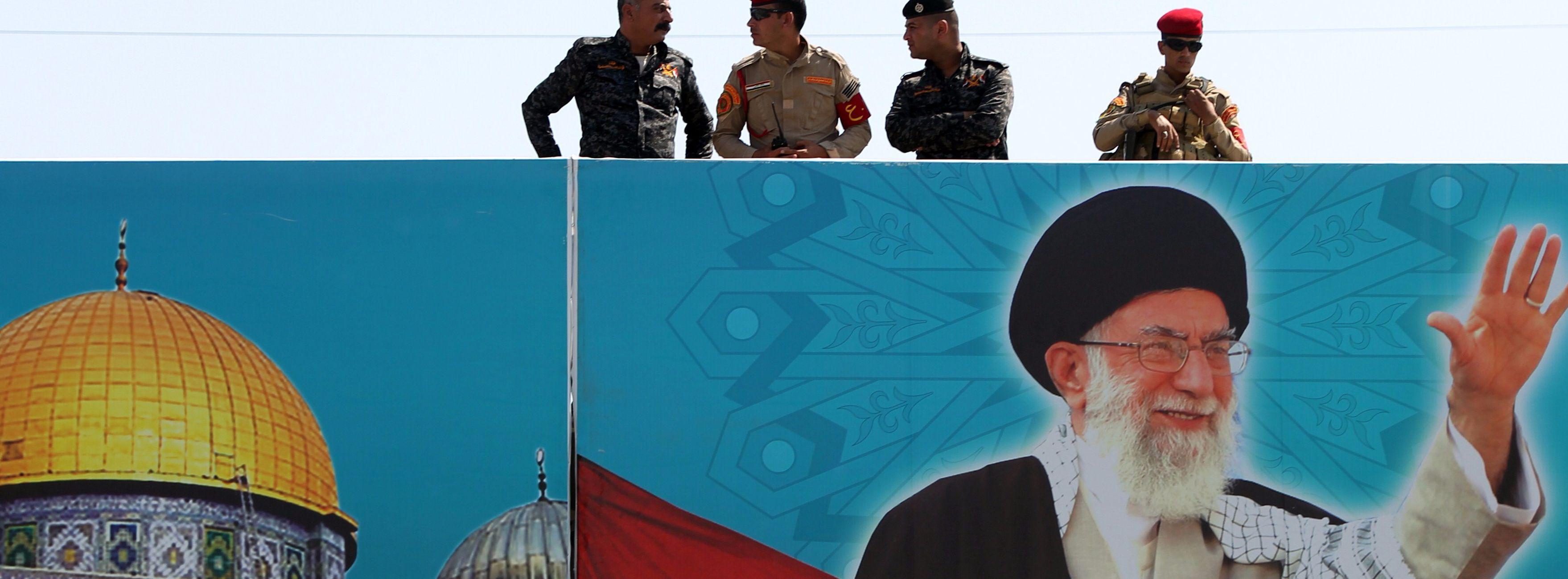 Poster Ayatollah Ali Khamenei