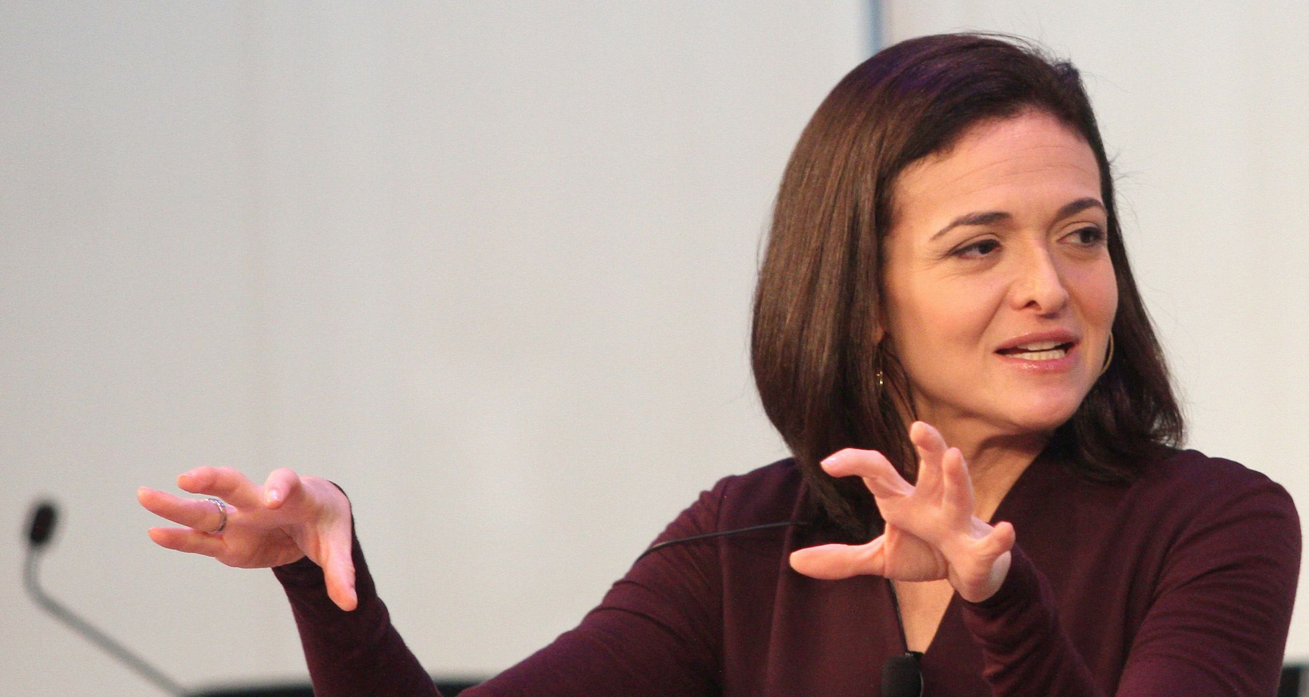 Sheryl Sandberg, presidential hopeful?