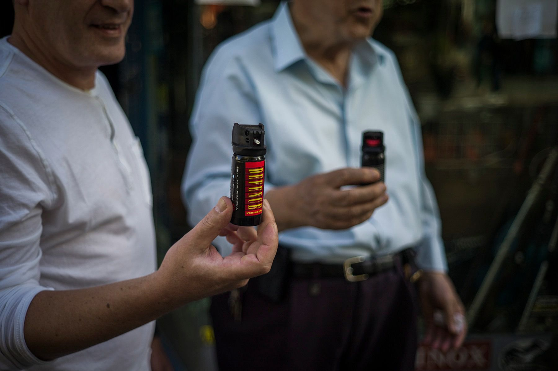 Israelis are arming themselves with pepper-spray