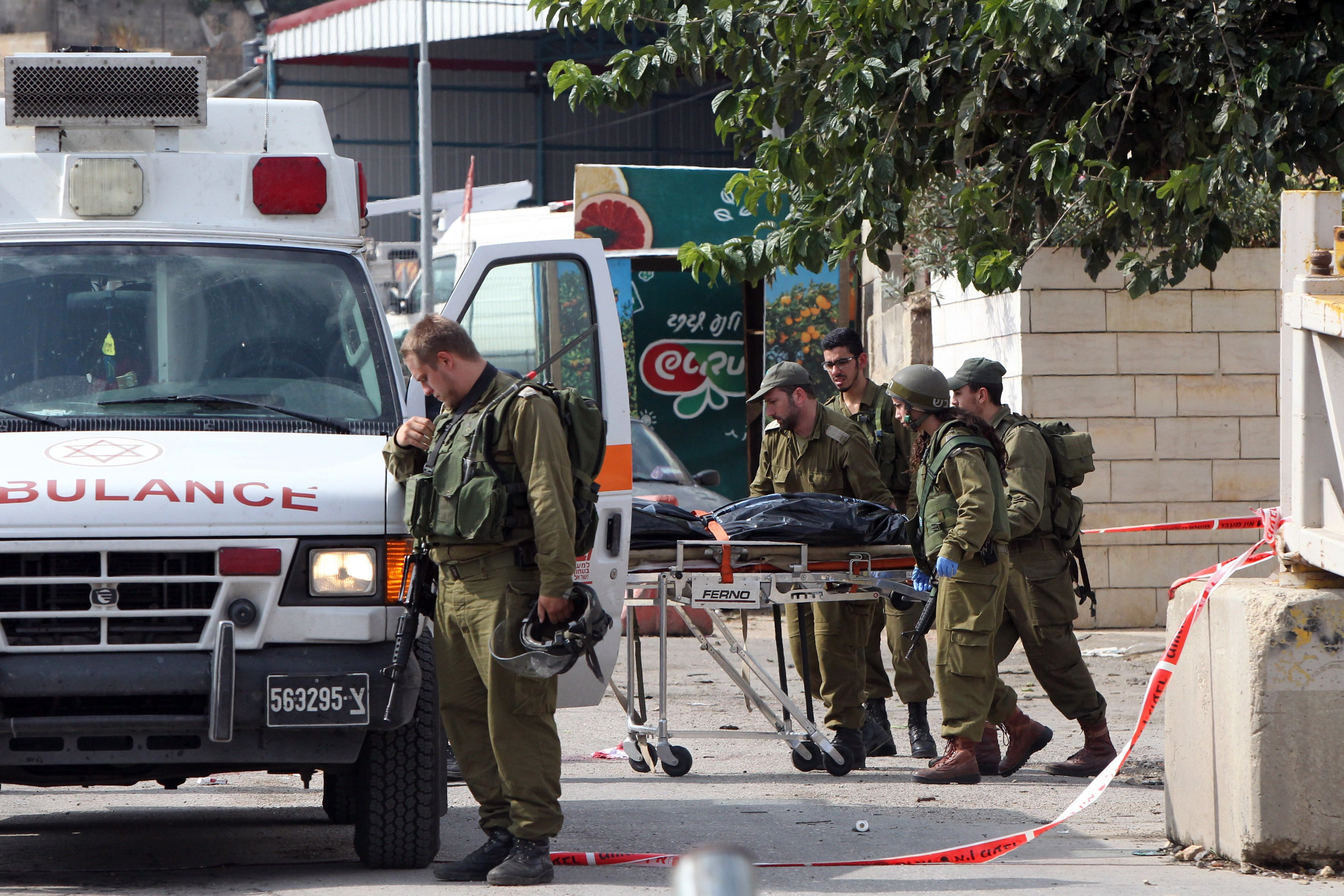 The attacker, a Palestinian university student, was shot and killed by IDF troops at the scene of the stabbing