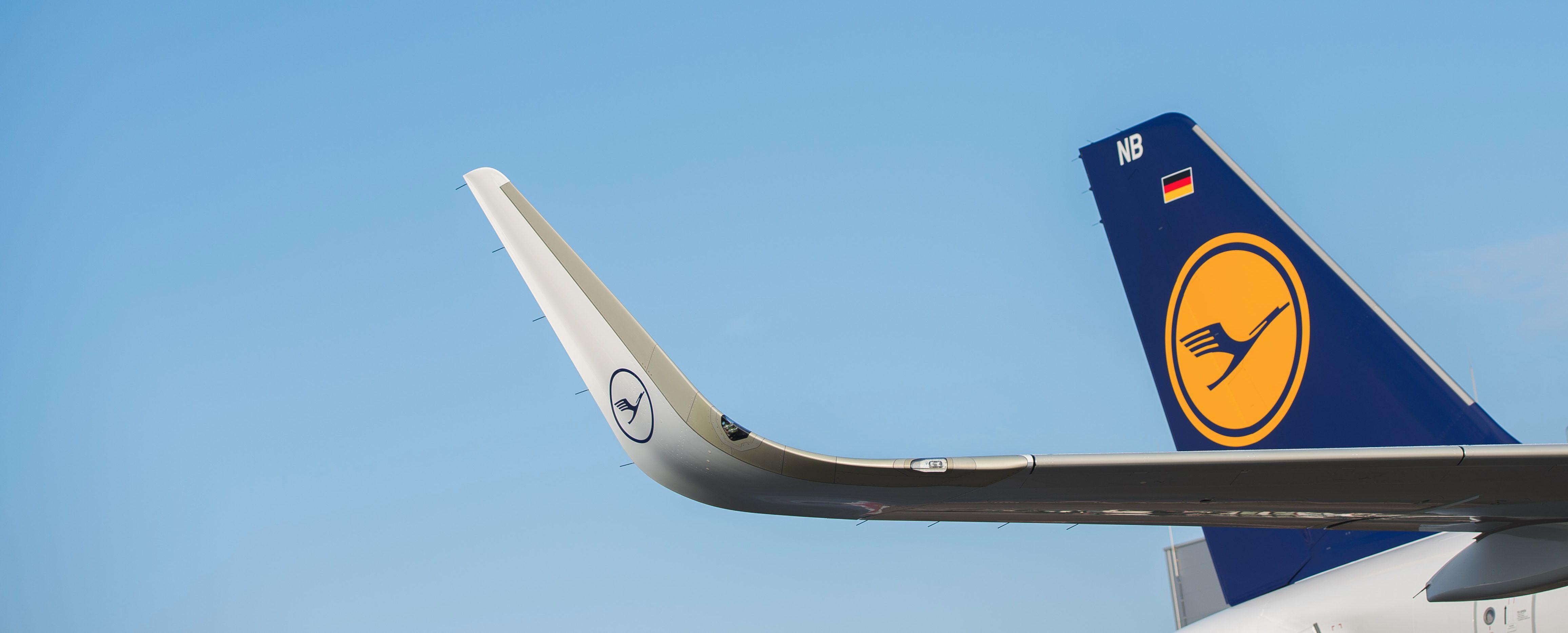 Lufthansa Jet.