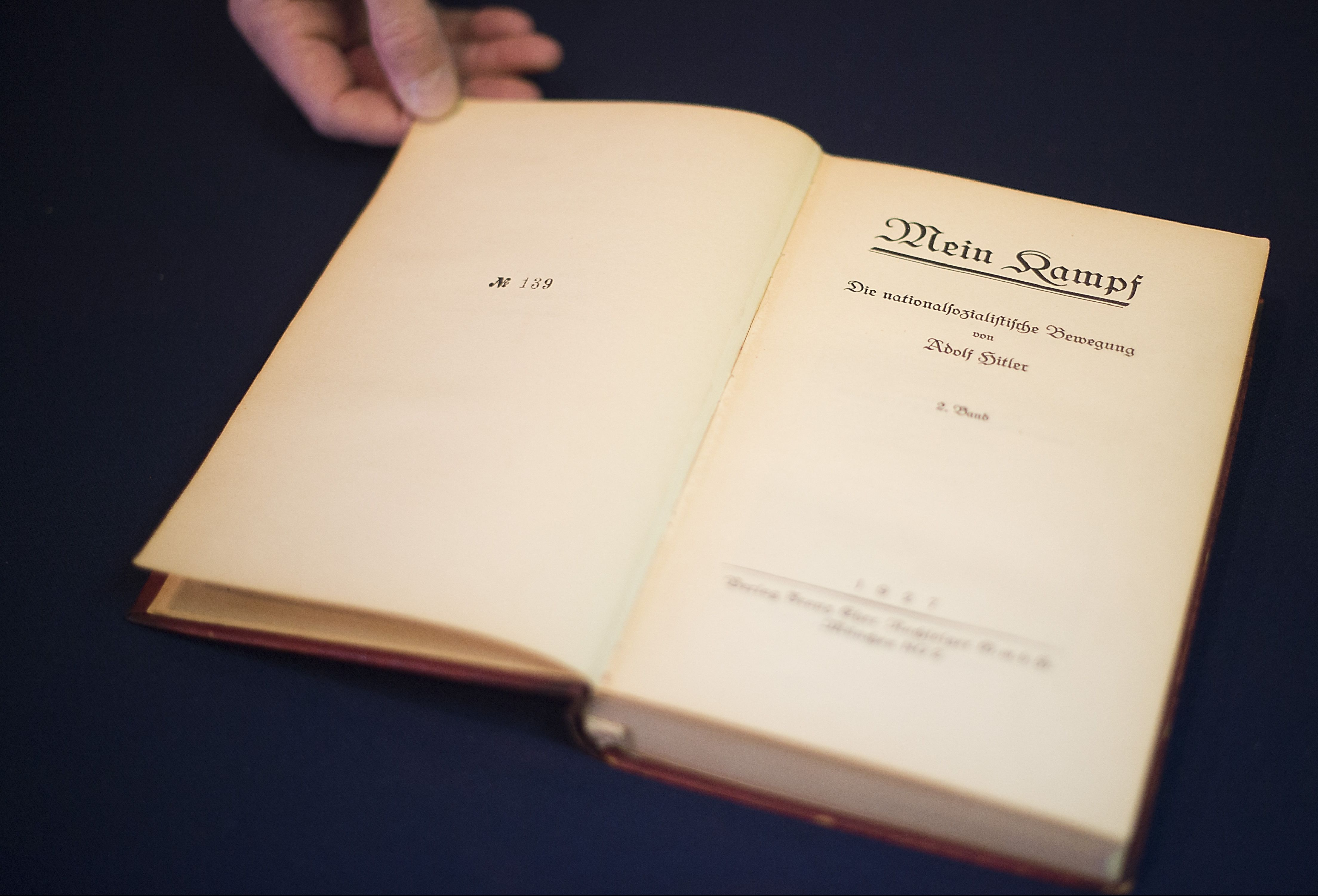 """A German edition of """"Mein Kampf."""""""