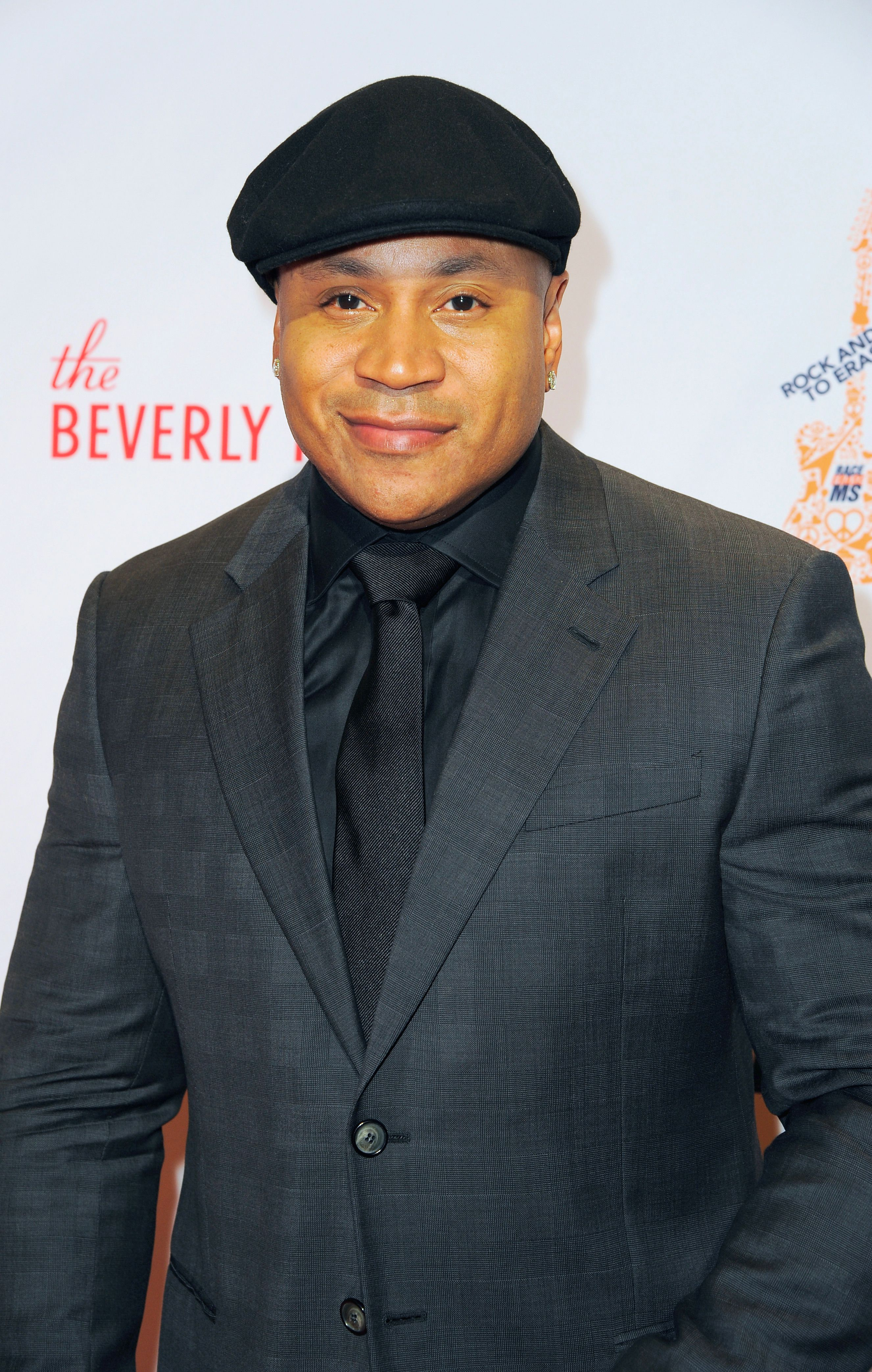 Actor and rapper LL Cool J on April 15, 2016 in Beverly Hills, California.