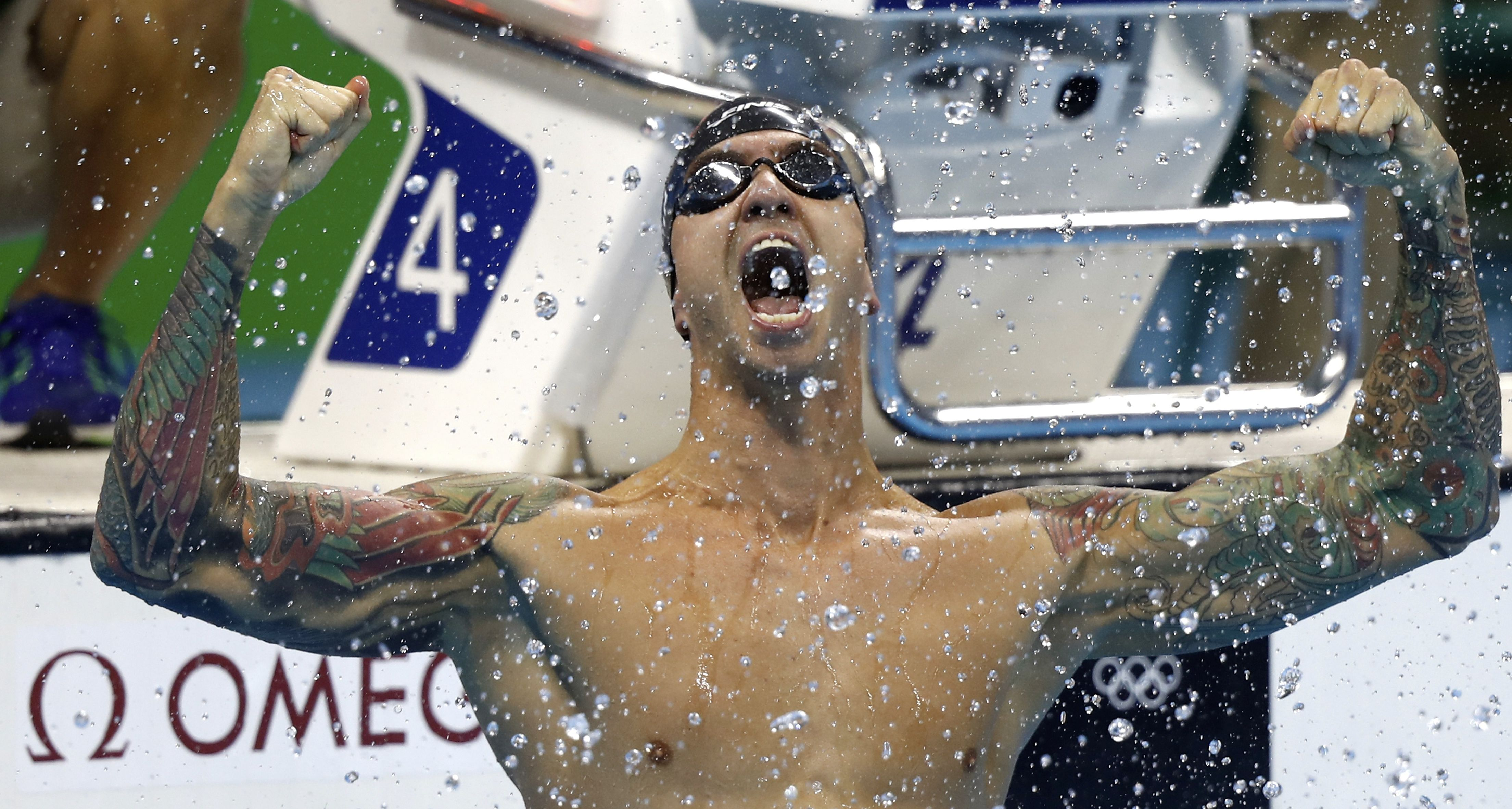 Ervin becomes oldest ever Olympic swimming champion