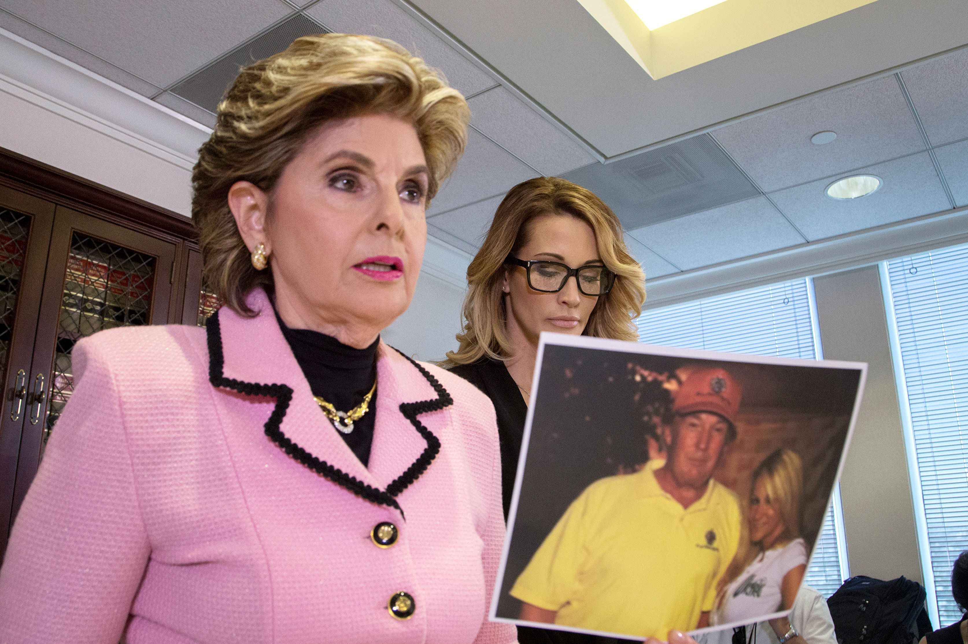 Gloria Allred Holds Press Conference Announcing New Allegations of Sexual Misconduct Against Donald Trump.