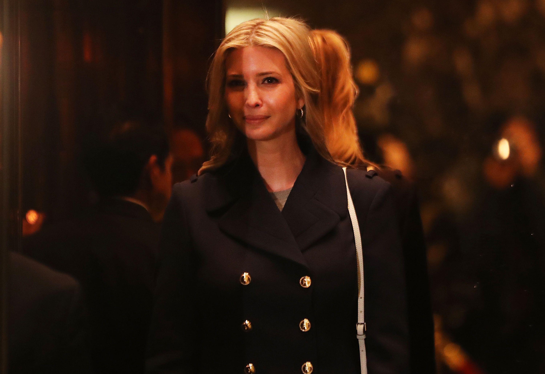 Ivanka Trump in Trump Tower.