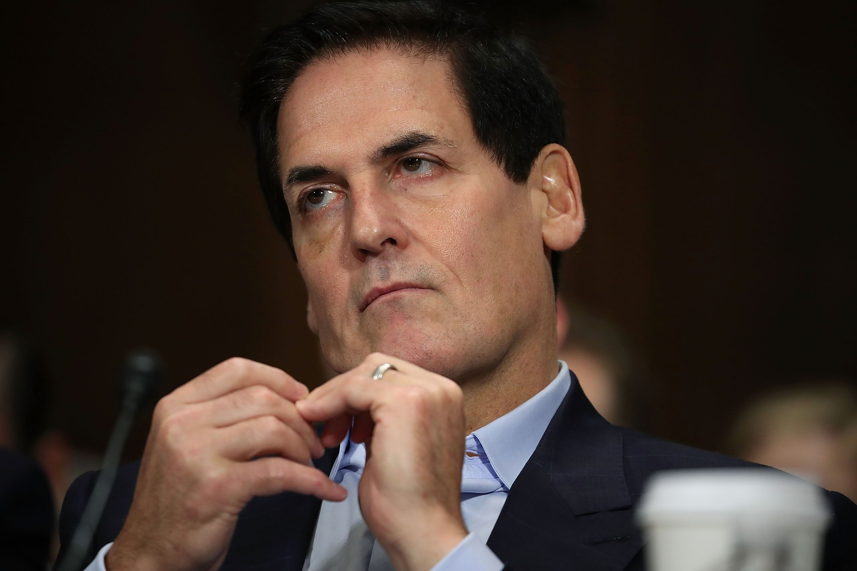 """""""It was great,"""" Mark Cuban said of his first kiss."""