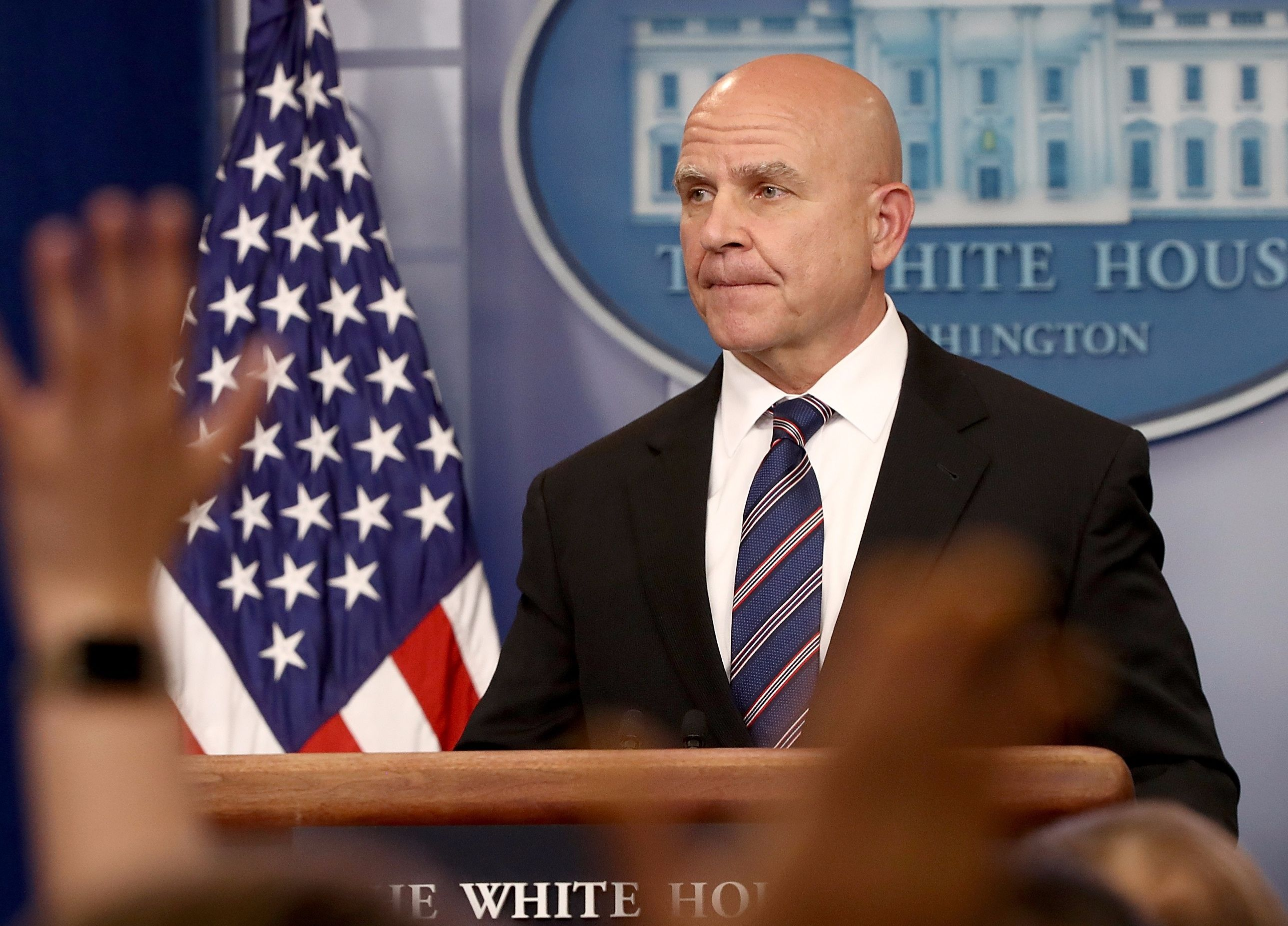 National security advisor takes dig at Trump's intelligence