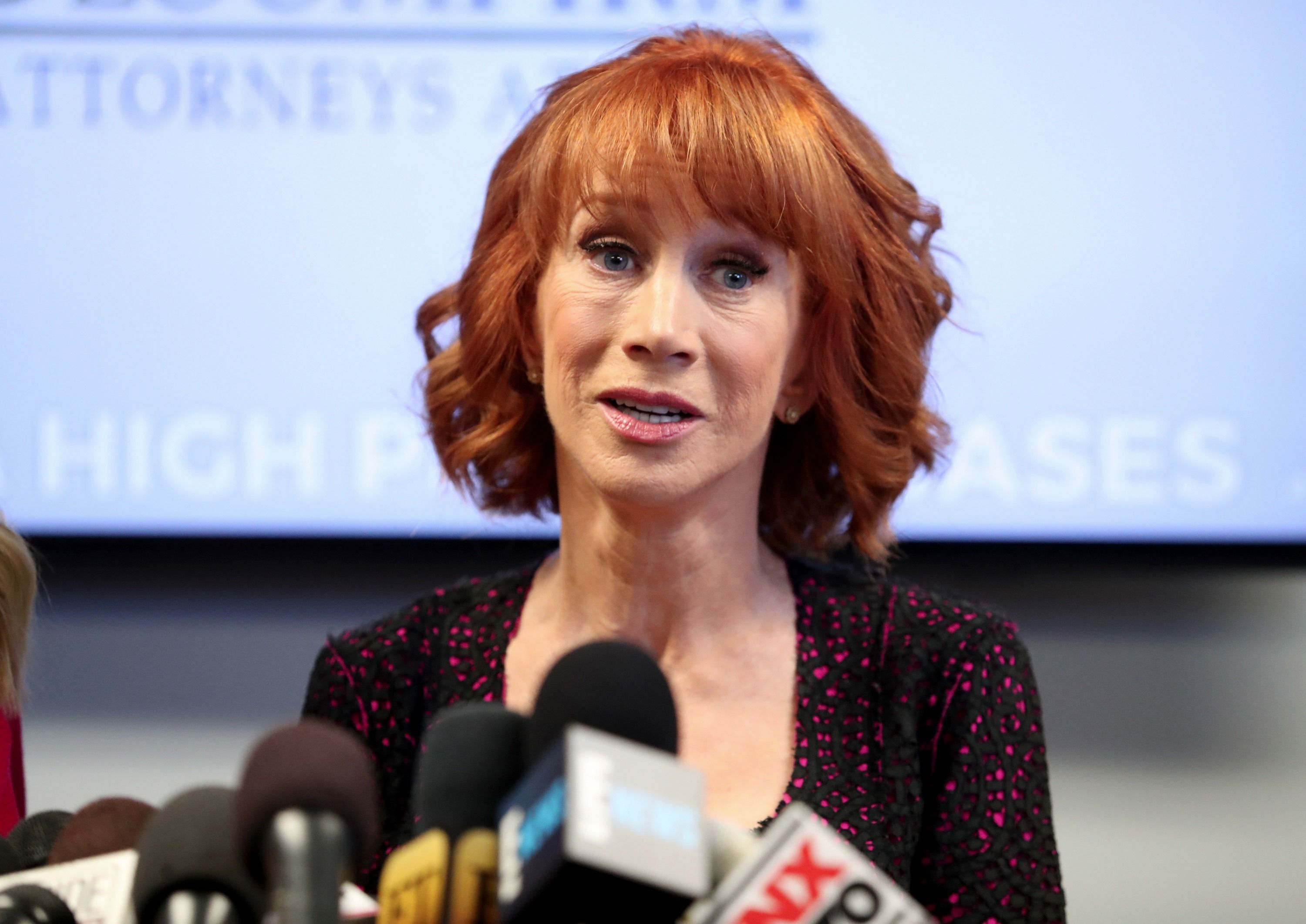 Kathy Griffin's Recent Video Rant Confirms She's Still Feuding With Andy Cohen