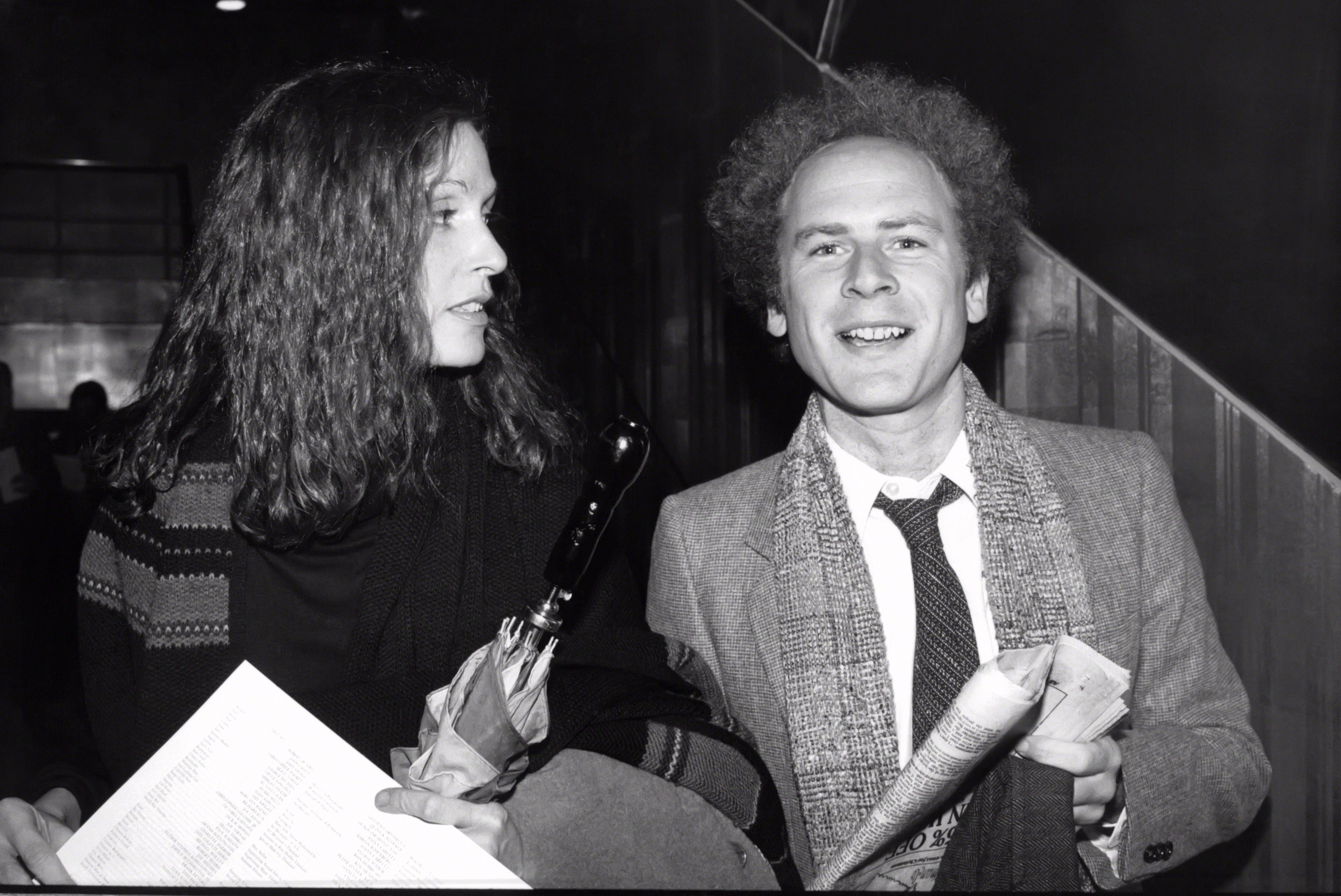Art Garfunkel with Edie Baskind