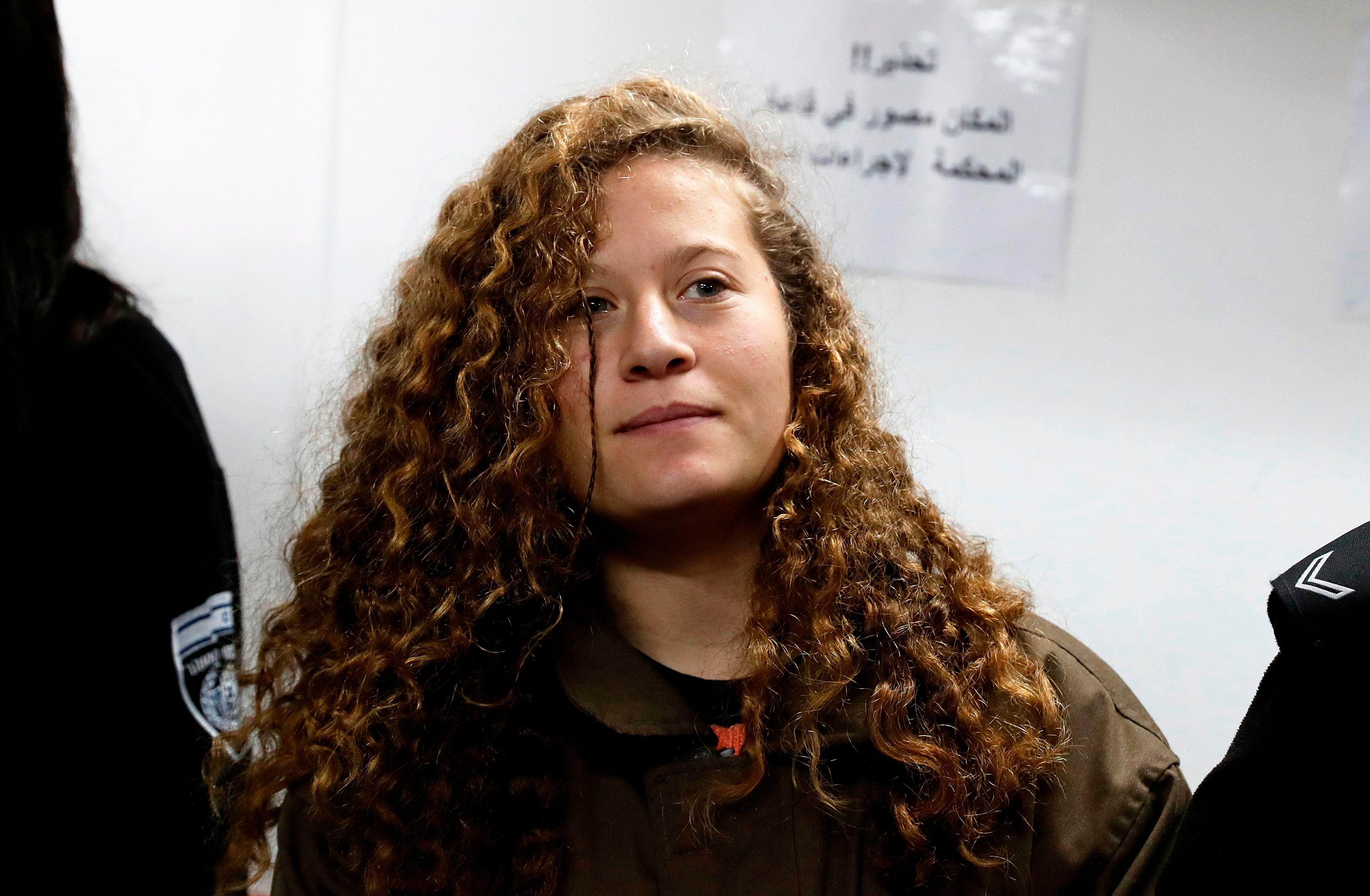 Real Madrid Honors Activist Palestinian Teen Ahed Tamimi