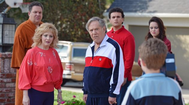 A Touch of Crass: George Segal is just one of the stars wasted on the ABC sitcom ?The Goldbergs,? which concerns a Jewish family in the 1980s.