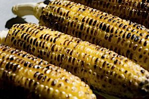 Summertime Shabbat: Grilled corn is a great and simple addition to Friday night dinner.