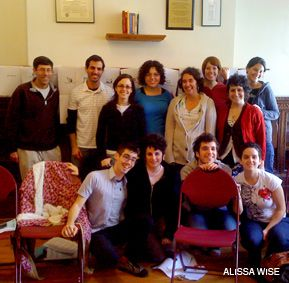 WORKING TOGETHER: The inaugural class of the Grace Paley Organizing Fellowship, launched this year by Jews for Racial and Economic Justice.