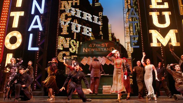 Song and Dance ?Guys and Dolls? returned to Broadway on March 1.