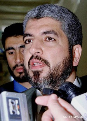 MESHAL: Carter?s meeting with the Hamas leader has sparked debate.