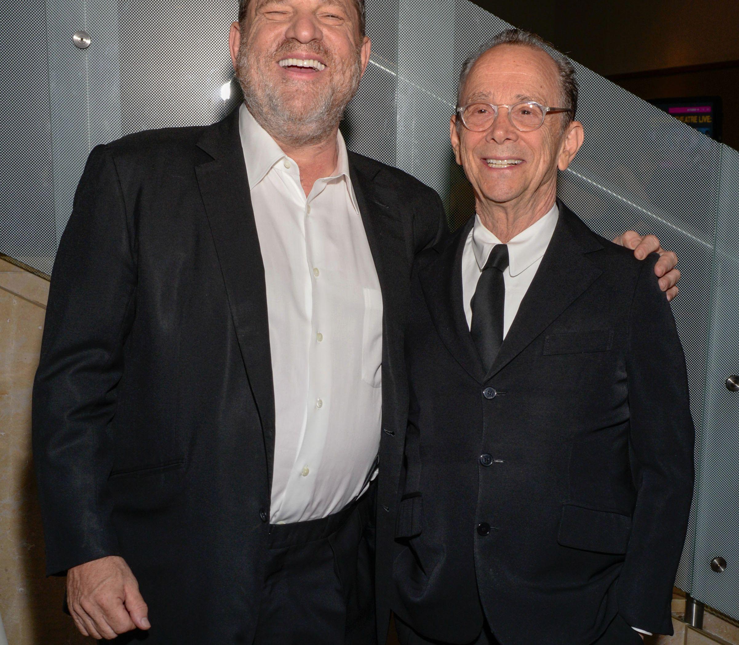 Harvey Weinstein and Joel Grey